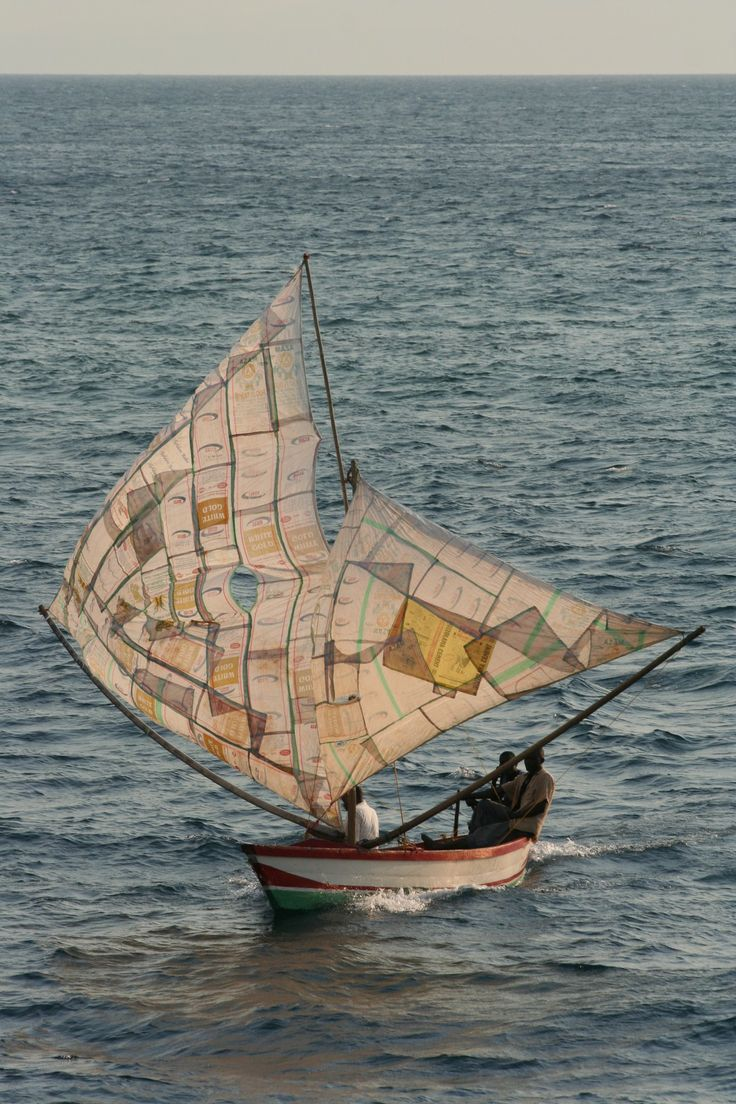 Lake Malawi, 2007. A wonderful example of creative ability to re-use and recycle.