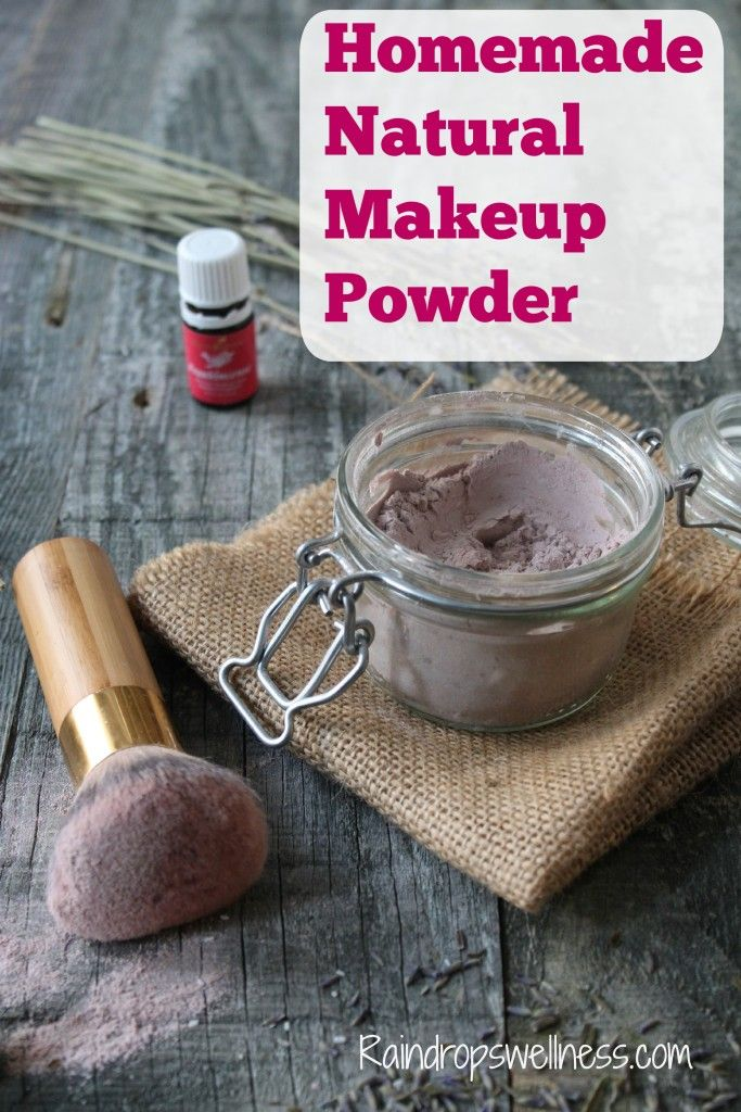 Homemade Natural Makeup Powder