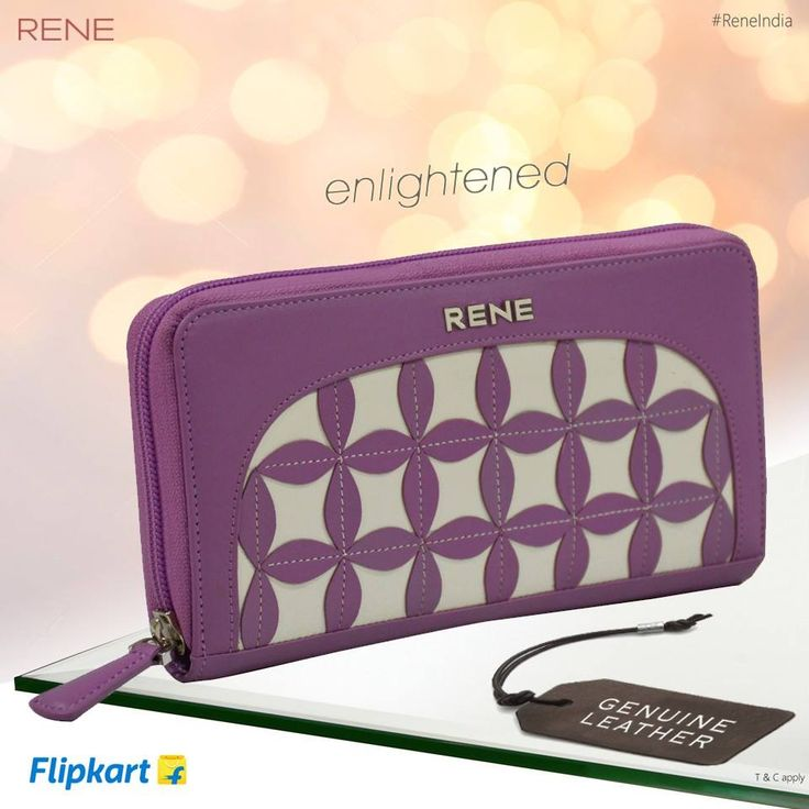 Keep your essentials in a best way! Try our Rene Genuine Leather Women's Wallet. Feel its class & quality.  Get it from #Flipkart: http://bit.ly/2aaGfPw  #Wallet #Leather #GenuineLeather #Women #Rene