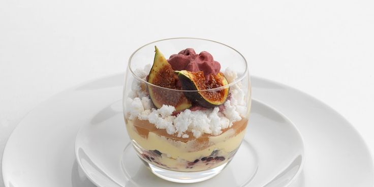 Thought Eton mess was a dish best served in summer? Think again. Geoffrey Smeddle creates an autumnal Eton mess using figs, pears and blackberries