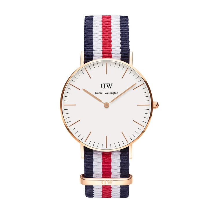 Daniel Wellington || Classic Canterbury Lady || Rose Gold || $175