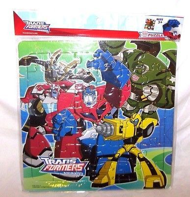 Hasbro Transformers Animated Pretend 42 Piece Puzzle (Styles may vary)-New!v3