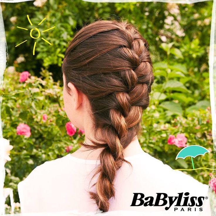 Cosa ne pensate di questa treccia francese alta?  #twistsecret #hair #inspiration #vintage #colour #girl #hairinspiration #glamour #capelli #acconciatura #acconciature #idea #retro #braid #braids #treccia #trecce #braidstyle #babyliss #babylissparis #trecciafrancese #frenchbraid #treccialta