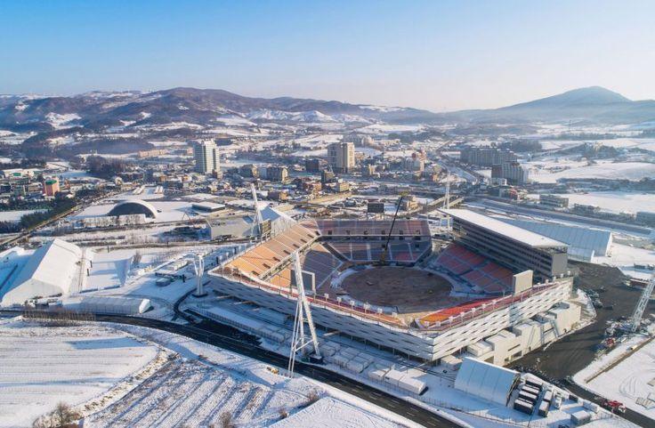 Olympische Winterspiele in Südkorea: Expresszug bringt Besucher schneller an Wettkampfstätten - SPIEGEL ONLINE - Reise