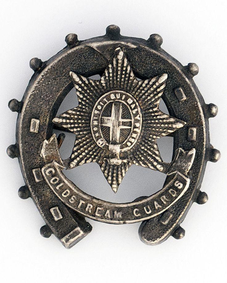 Coldstream Guards Boer War Hallmarked Silver Horseshoe Sweetheart Brooch in Collectables, Militaria, Boer War (1899-1902)   eBay