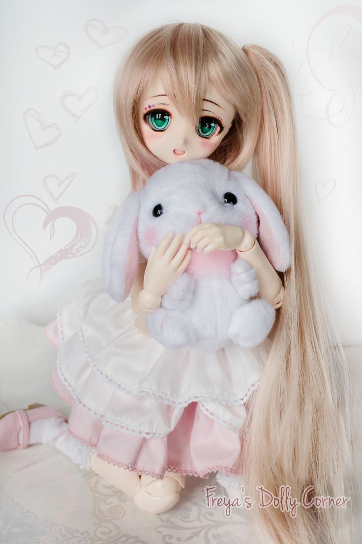 custom dollfie dream with interchangeable mouth