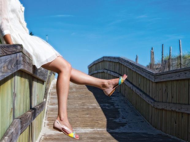 """#Hannah shoe inspiration and fresh colors for a new season"" -Jenn Rogien"