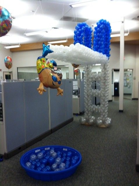 Our customer, A Balloon Affair, located in Simpsonville, South Carolina shared this image of their diving board balloon design. We love the creativity! Thank you for sharing!