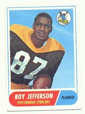 Roy Jefferson - voted into the legends team in 2007, he was voted one of the best steelers prior to 1970, although he didnt win a superbowl with the Steelers he was the first Steeler WR to receive back to back 1000 yard seasons
