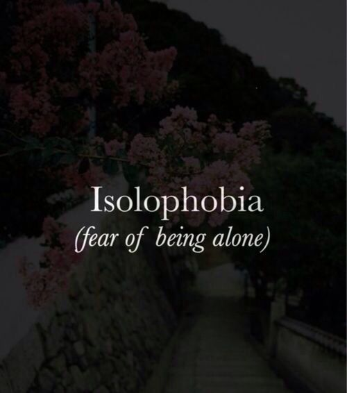 fear of being alone essay
