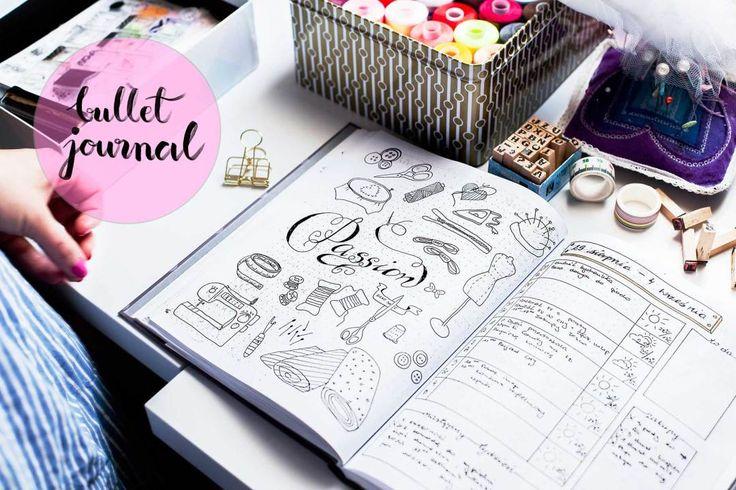 bullet journal, kalendarz, jak zacząć bullet journal, organizer, planer, biurko, domowe biuro, organizacja czasu