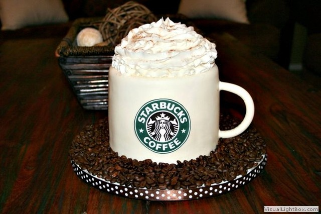 Party Starbucks Birthday Cake Ideas And Designs