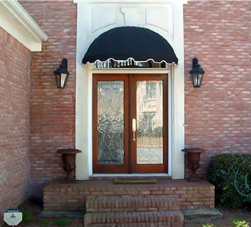 Dome Style Window Awning Or Door Canopy 4 Wide In