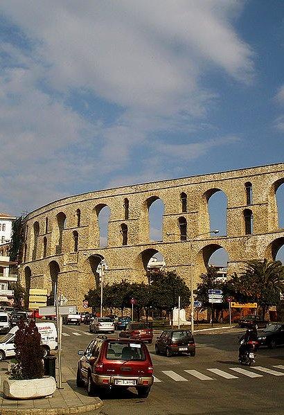 The City of Kavala, Greece