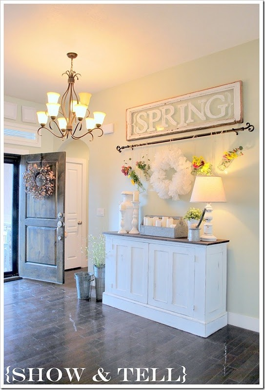 16 best images about spring decorating on pinterest for Foyer curtain ideas
