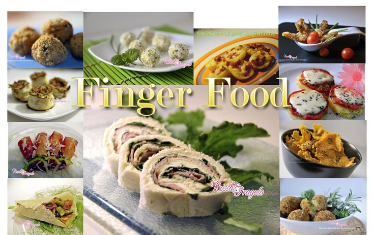 Raccolta di ricette Finger food