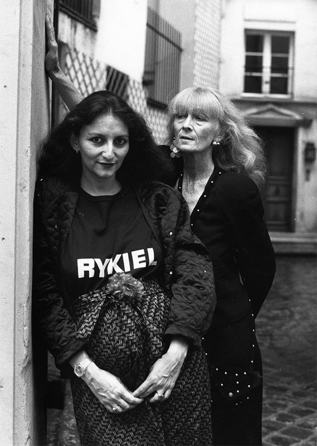 Sonia & Nathalie Rykiel in Paris, 1985