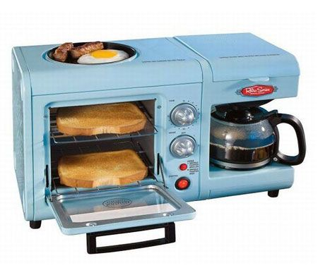 All in one breakfast machine