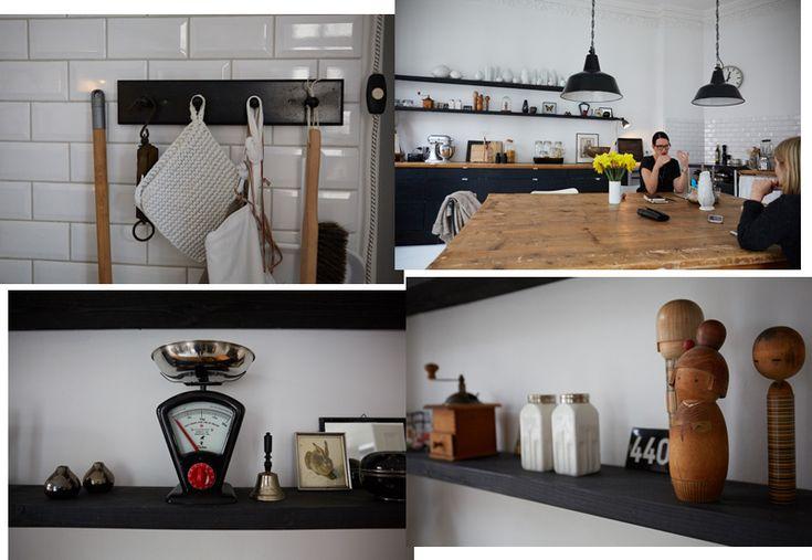 Wohnen in Schwarz und Weiß – zu Besuch bei Beraterin Gianna Possehl | Femtastics