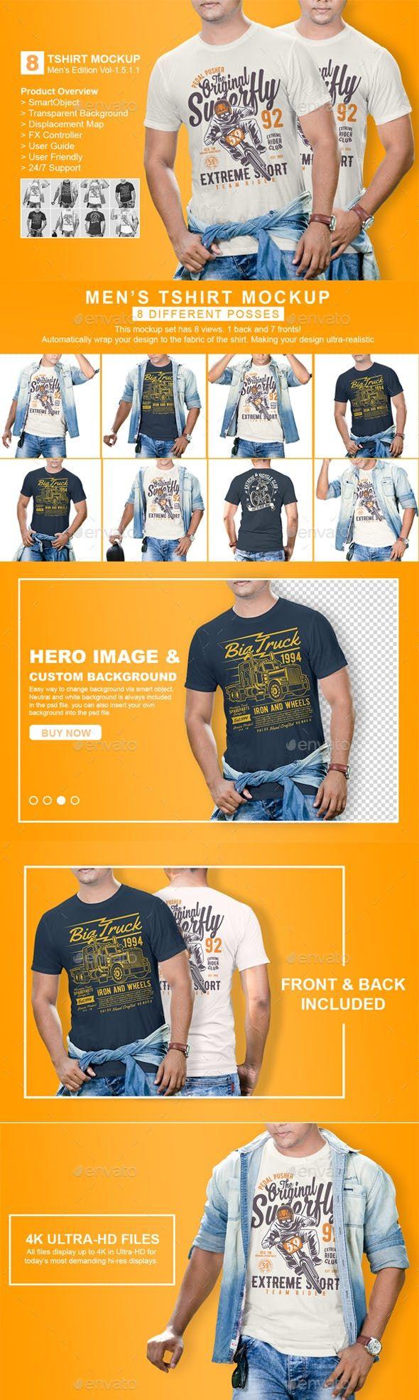 Download Mens Tshirt Mockup Vol 1 5 1 1 Clothing Mockup Tshirt Mockup Shirt Mockup