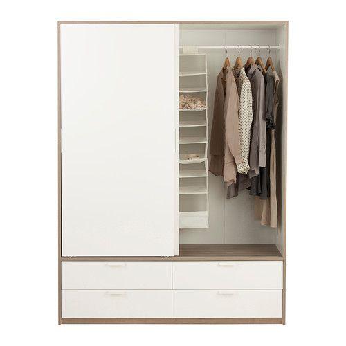 trysil armario puerta corredera ikea las puertas correderas te dejan m s sitio para poner. Black Bedroom Furniture Sets. Home Design Ideas