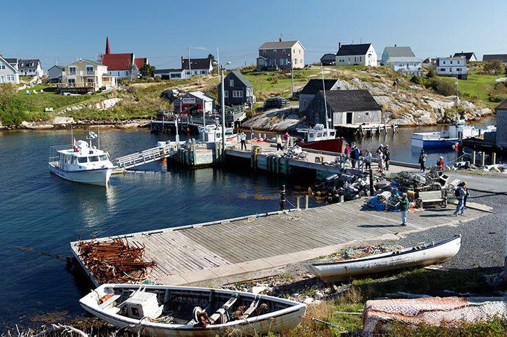 Lighthouse Trail in Nova Scotia