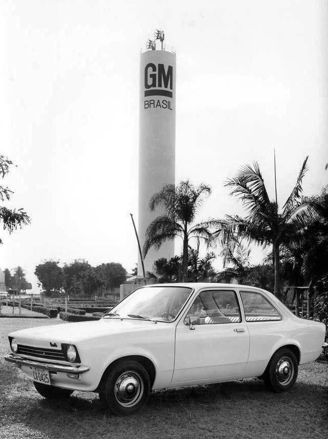 1973 Chevrolet Chevette at the São José dos Campos Assembly Plant - Brasil