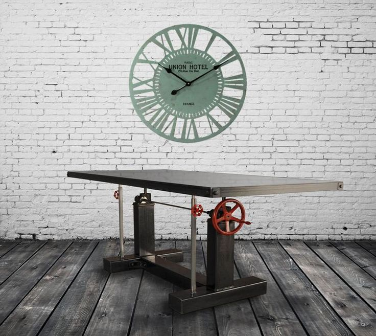 large wall clock industrial wall clock 24x24 inches metal airplane wall clock