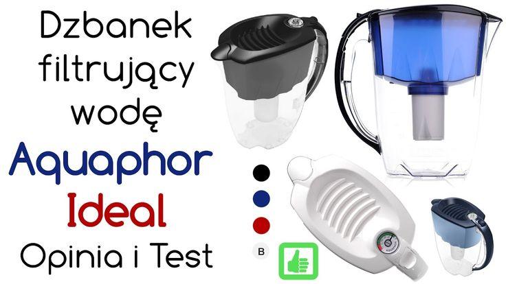 Aquaphor Ideal dzbanek filtrujący wodę – Opinia i Test