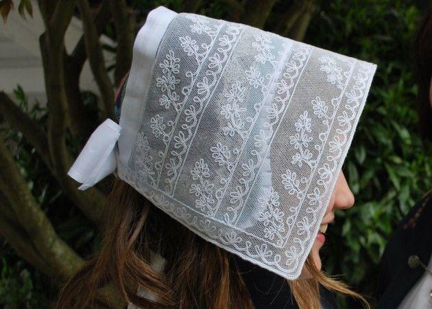 Håndarbeiden » Nå skal det være hodeplagg til bunaden - bunadslue - bunad - craft - national costume - DIY