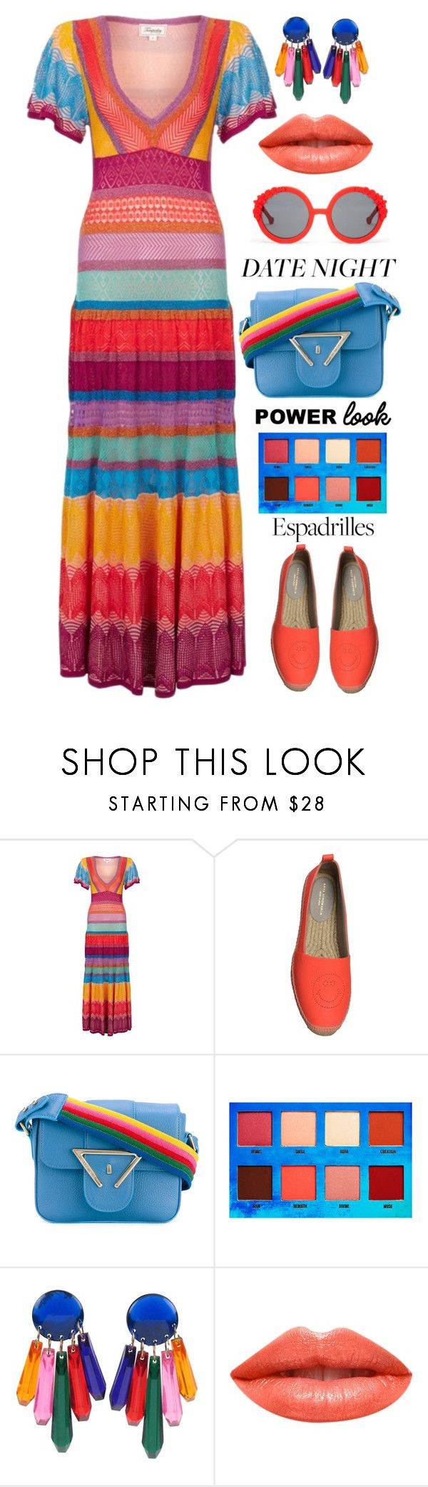 """Power Look"" by shoaleh-nia ❤ liked on Polyvore featuring Temperley London, Anya Hindmarch, Sara Battaglia, Lime Crime, Ardency Inn and Preen"
