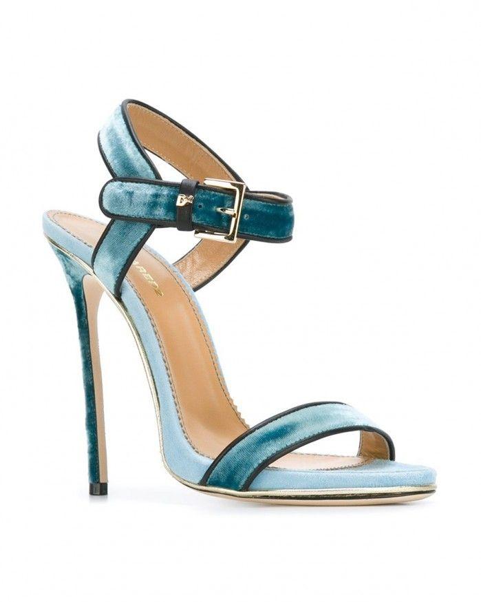 DSQUARED2  velvet sandals | Buy ➜ https://shoespost.com/dsquared2-velvet-sandals/