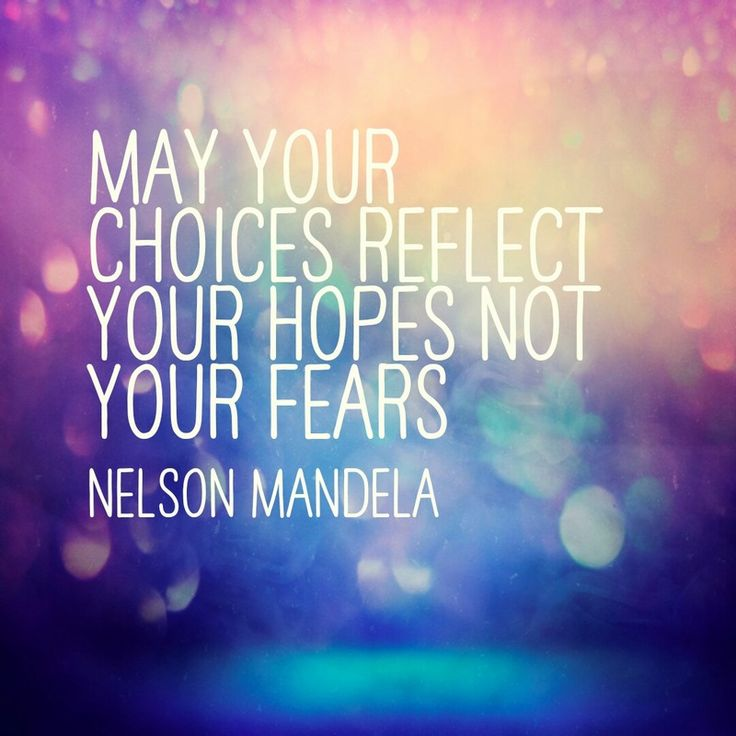 May Your Choices Reflect Your Hopes Not Your Fears - Nelson Mandela | I start today with great hope. We're meeting with the genetic counselor at our Fertility clinic in order to understand more about how I can be our child's biological mother without passing on the common but deadly genetic disorder Factor V Leiden | Survival + Peace Blog | The Hopes Conquer the Fears