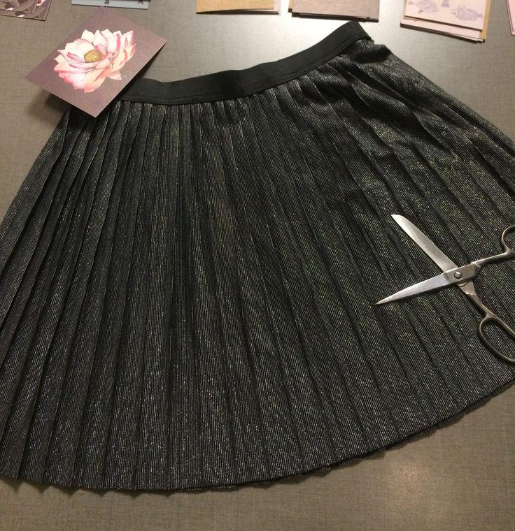 Punk shiny skirt ❣️