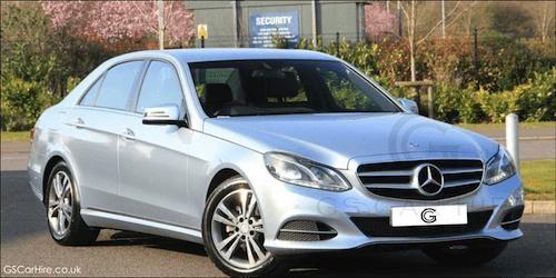 Luxury E Class Mercedes Chauffeur Car for Business Transportation in London