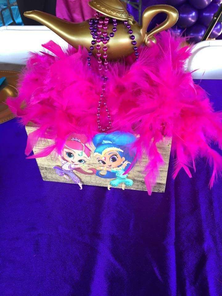 Rhylee's Shimmer and Shine 4th Birthday Party | CatchMyParty.com