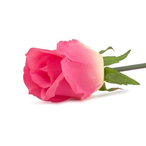 Decoratiuni - Fir trandafir, roz-galben, 50 cm la numai 3.00 RON