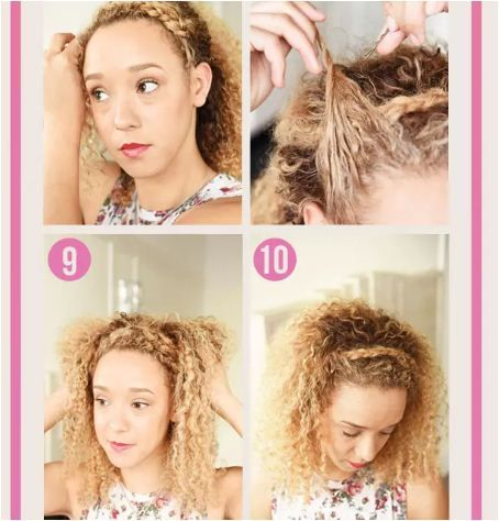Highly unique information on front side braid