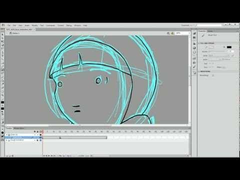 Hand-Drawn Animation in Adobe Flash