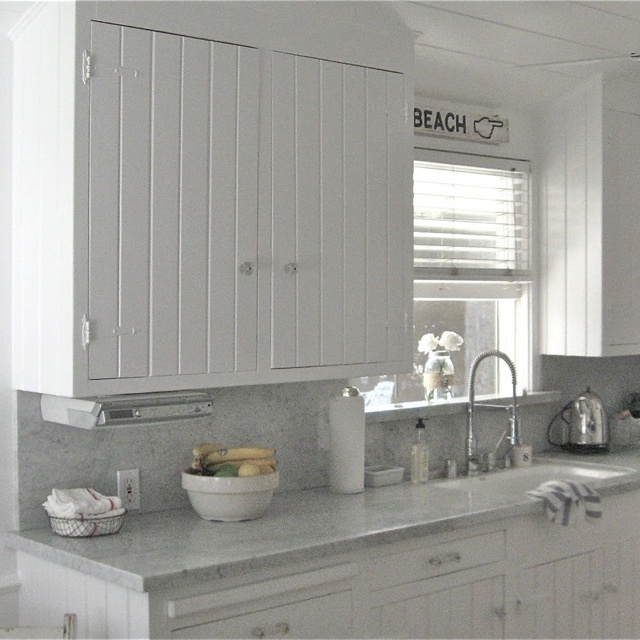 Kitchen Cabinet Ideas Beach House: Beach Cottage Kitchen Ideas For Home Remodel...