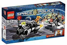LEGO Space Police Set #5970 Freeze Ray Frenzy
