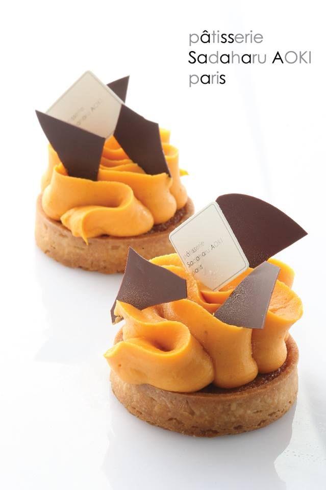 Frangipane Tart with Sweet Potato & Rum | Pâtisserie Sadaharu AOKI Paris
