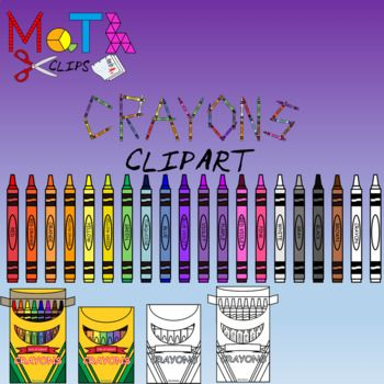 Over 85 High Quality Crayons Crayon Boxes And Letters Images The Only Set You Will Need All Images Are Crisp Png Images And Scala Crayon Crayon Box Clip Art