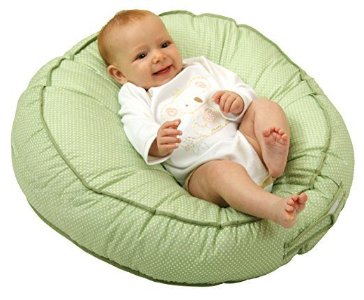 Amazon.com : Leachco Podster Sling-Style Infant Seat Lounger, Green Bear : Infant Sitting Chairs : Baby