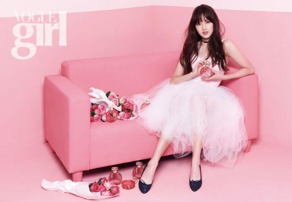 G-Friend's Yerin Vogue Girl Magazine December 2015 photos