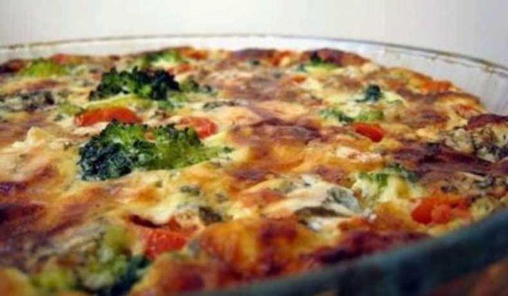 En väldigt god och uppskattad paj, även för oss som inte är vegeterianer :-)