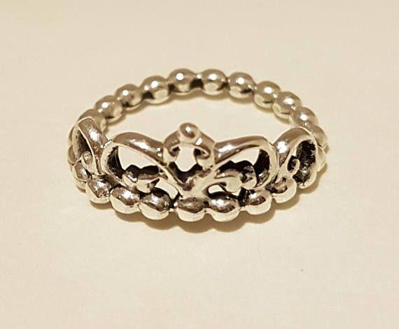 pandora anelli corona donna