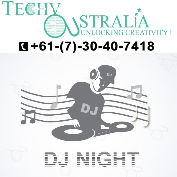 +61(7)-30-40-7418 Creative logo design in Techy Australia