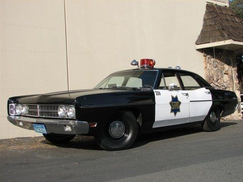 1970 Ford Galaxie Custom SFPD Police Car