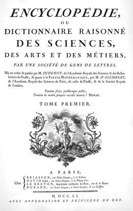Diderot's Encyclopédie: The Age of Enlightenment in 28 Volumes, via Mimi Matthews